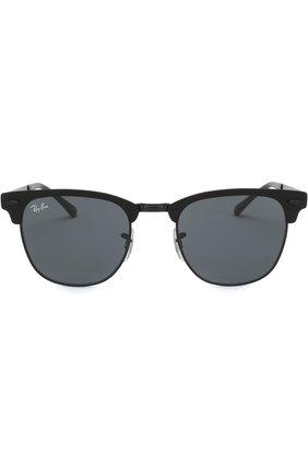 Мужские солнцезащитные очки RAY-BAN черного цвета, арт. 3716-186/R5 | Фото 2