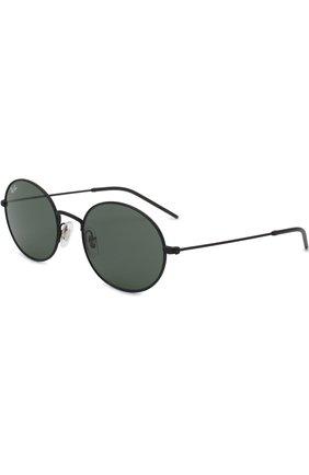 Мужские солнцезащитные очки RAY-BAN черного цвета, арт. 3594-901471 | Фото 1