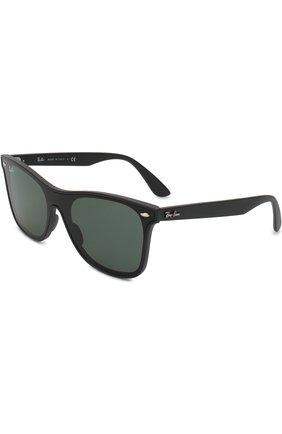 Мужские солнцезащитные очки RAY-BAN черного цвета, арт. 4440N-601S71 | Фото 1