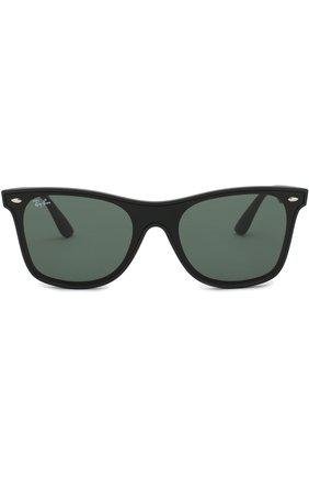 Мужские солнцезащитные очки RAY-BAN черного цвета, арт. 4440N-601S71 | Фото 2