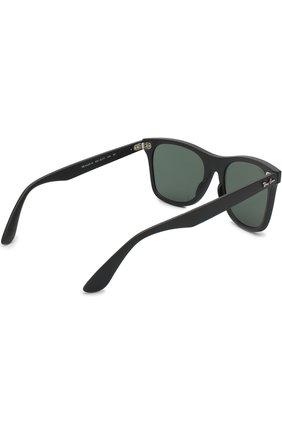 Мужские солнцезащитные очки RAY-BAN черного цвета, арт. 4440N-601S71 | Фото 3