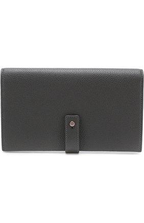 Кожаное портмоне с футляром для кредитных карт | Фото №1