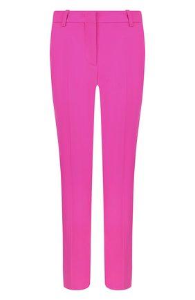 Укороченные шерстяные брюки со стрелками Emilio Pucci фуксия | Фото №1