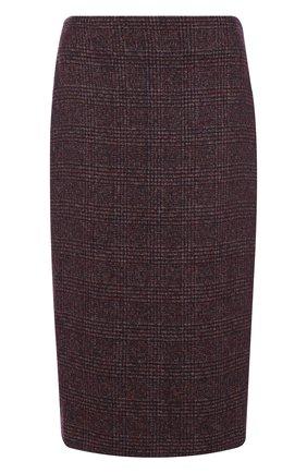Вязаная юбка из смеси шерсти и кашемира с шелком | Фото №1