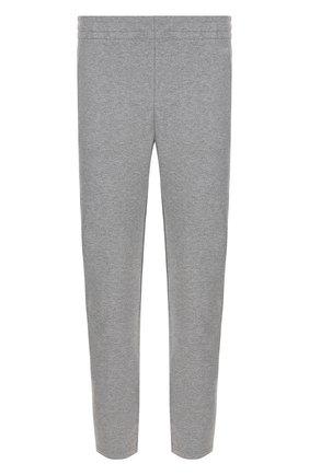 Мужской брюки прямого кроя из смеси хлопка и вискозы Z ZEGNA серого цвета, арт. V8451/ZZP16 | Фото 1