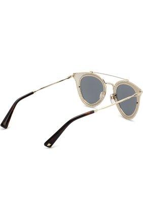 Женские солнцезащитные очки VALENTINO золотого цвета, арт. 2019-30036G | Фото 4