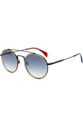 Солнцезащитные очки Tommy Hilfiger темно-синие | Фото №1