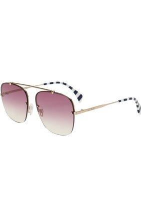 Солнцезащитные очки Tommy Hilfiger фиолетовые | Фото №1