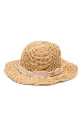Соломенная шляпа с лентой Heidi Klein бежевого цвета | Фото №1