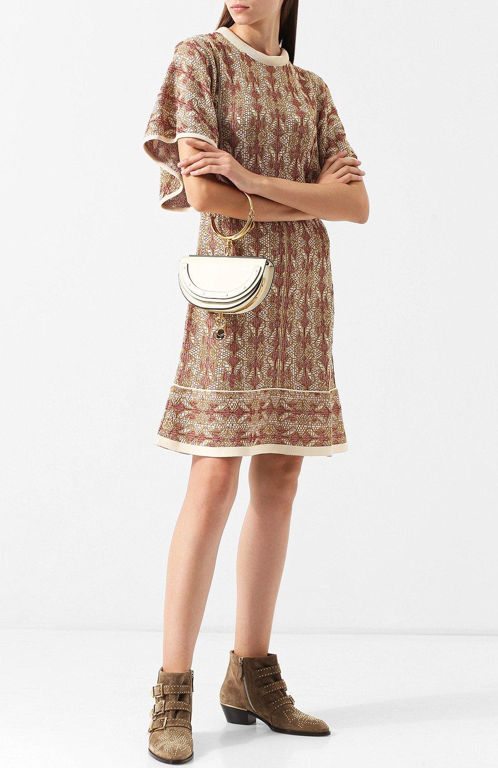 Женская сумка nile minaudière CHLOÉ белого цвета, арт. CHC17US302H5H   Фото 2