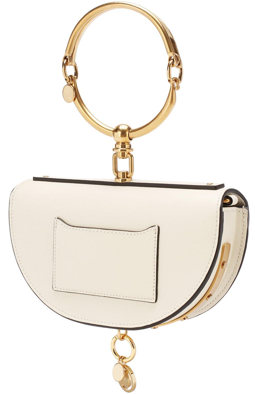 Женская сумка nile minaudière CHLOÉ белого цвета, арт. CHC17US302H5H   Фото 3