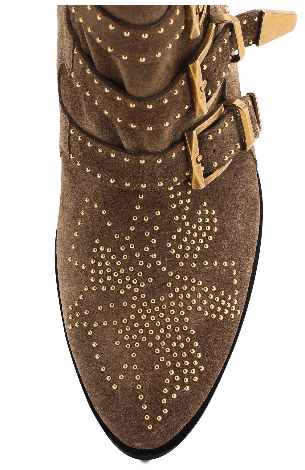 Замшевые ботинки Susanna   Фото №5