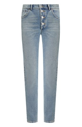 Женские джинсы BALENCIAGA синего цвета, арт. 529183/TSB06   Фото 1
