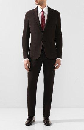Мужской кожаные дерби napoli DOLCE & GABBANA коричневого цвета, арт. 0111/A10306/AC460 | Фото 2