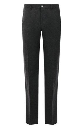 Мужской шерстяные брюки прямого кроя ZILLI серого цвета, арт. M0Q-40-38N--46438/0001 | Фото 1