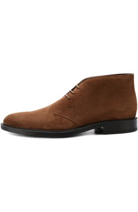 Кожаные ботинки  | Фото №3