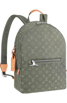 Рюкзак PM Monogram Titanium Louis Vuitton серый | Фото №1