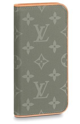 Чехол для iPhone X Folio Louis Vuitton #color#   Фото №1