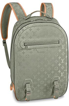 Мужской рюкзак gm monogram titanium LOUIS VUITTON серого цвета, арт. M43881 | Фото 1