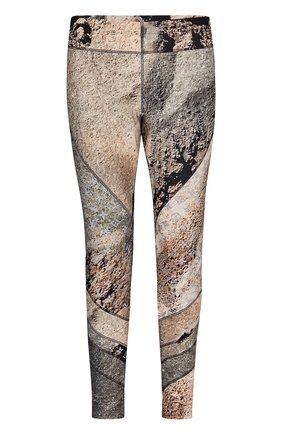 Брюки с принтом Louis Vuitton бежевые | Фото №1
