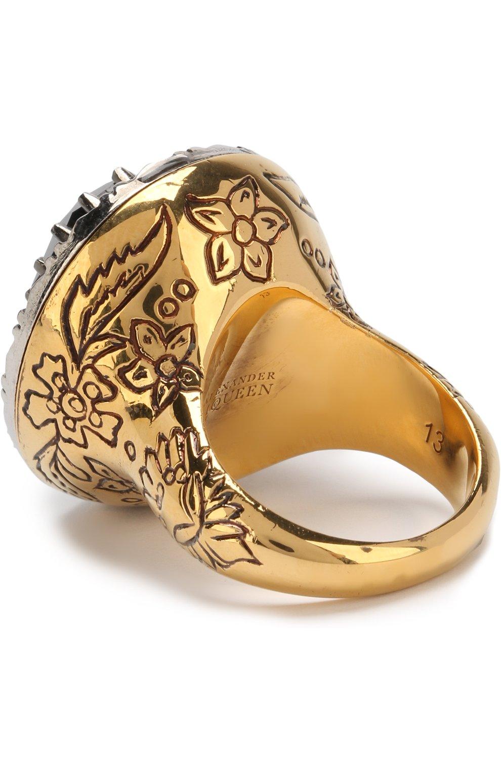 Кольцо с кристаллами Swarovski | Фото №2