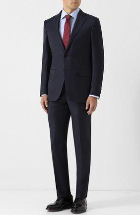 Шерстяной костюм с однобортным пиджаком | Фото №1