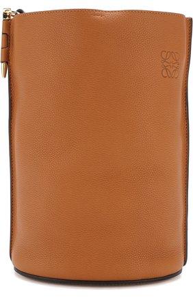 Сумка Gate Bucket Loewe светло-коричневая цвета | Фото №1