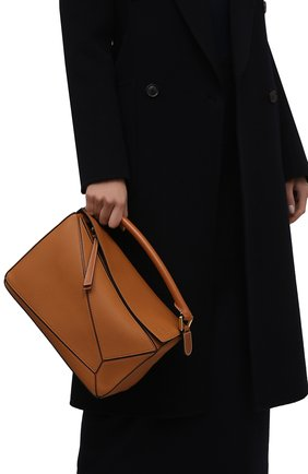 Сумка Puzzle Loewe светло-коричневая цвета | Фото №1