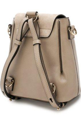 Женский рюкзак faye mini CHLOÉ серого цвета, арт. CHC17SS232HEU | Фото 3
