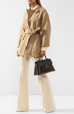 Женская сумка piazza large BOTTEGA VENETA бронзового цвета, арт. 495848/VA2Q0 | Фото 2