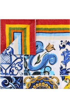 Хлопковое полотенце с принтом | Фото №1
