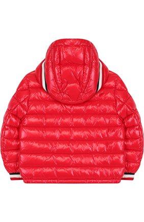 Стеганая куртка на молнии с капюшоном | Фото №2
