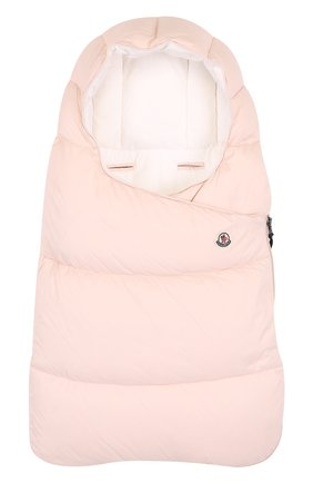 Детский пуховый конверт MONCLER ENFANT светло-розового цвета, арт. D2-951-00828-05-53079 | Фото 1