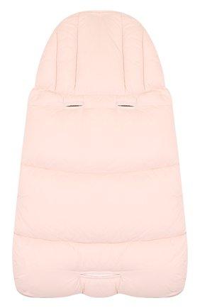 Детский пуховый конверт MONCLER ENFANT светло-розового цвета, арт. D2-951-00828-05-53079 | Фото 2