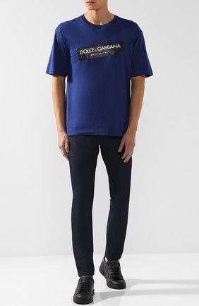 Джинсы Dolce & Gabbana темно-синие | Фото №2
