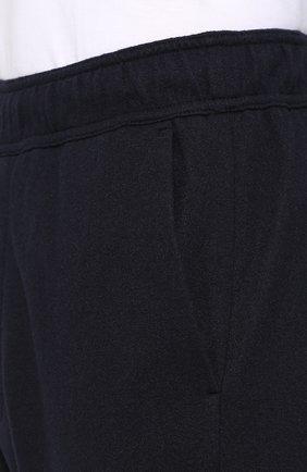Кашемировые брюки прямого кроя с поясом на резинке | Фото №5