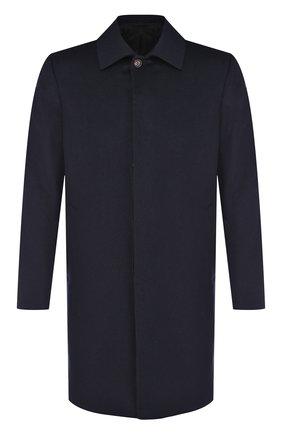 Кашемировое пальто на пуговицах | Фото №1
