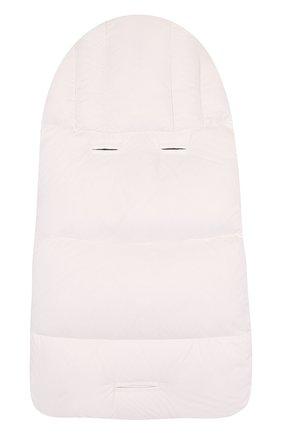Детский пуховый конверт MONCLER ENFANT белого цвета, арт. D2-951-00828-05-53079 | Фото 2