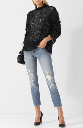 Женская кожаные туфли valentino garavani rockstud spike VALENTINO черного цвета, арт. QW2S0H88/LLQ | Фото 2