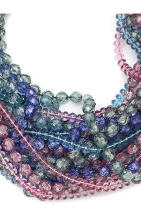 Колье из бусин Giorgio Armani разноцветное | Фото №1
