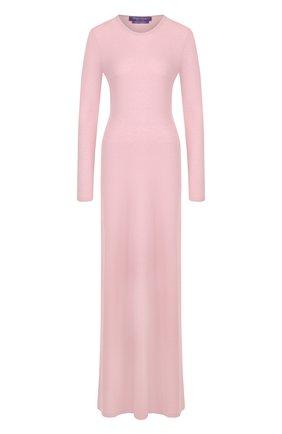 Однотонное платье-макси из кашемира | Фото №1