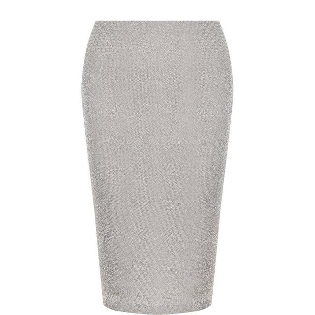 Вязаная юбка-карандаш из смеси кашемира и вискозы Ralph Lauren