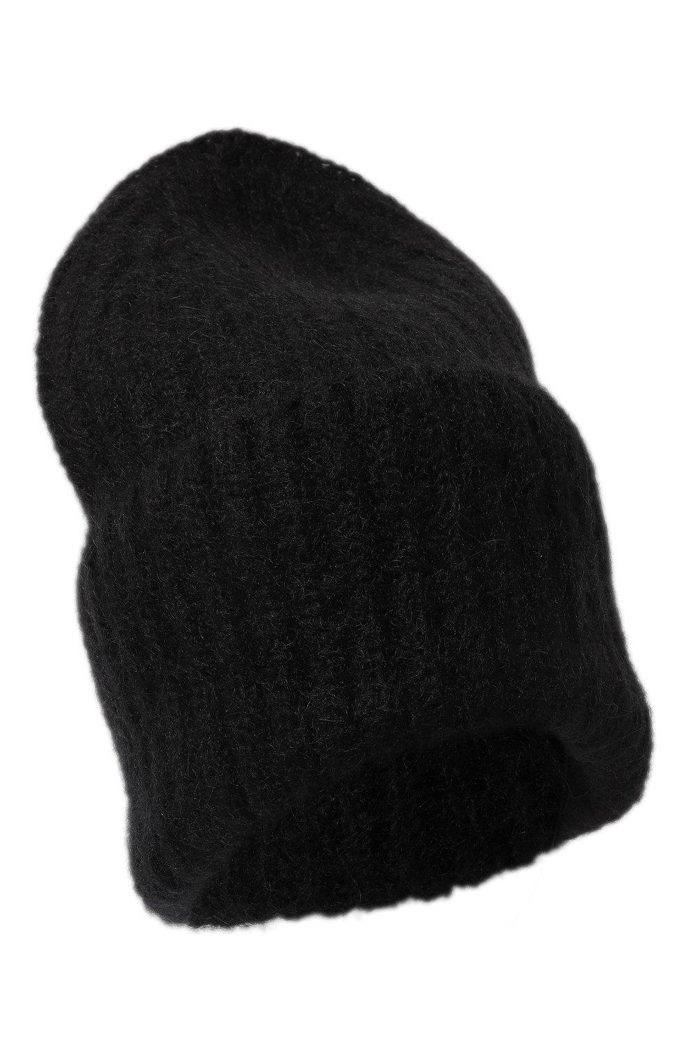 Женская шапка TAK.ORI черного цвета, арт. AC043MW018PF17   Фото 1 (Материал: Текстиль, Шерсть, Синтетический материал; Статус проверки: Проверено, Проверена категория)