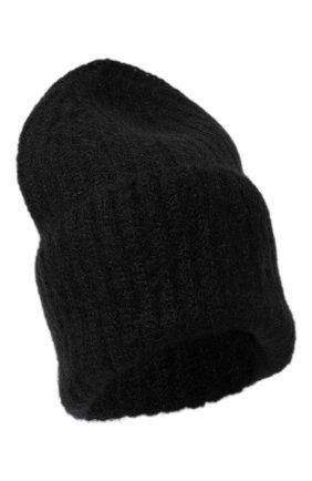 Женская шапка TAK.ORI черного цвета, арт. AC043MW018PF17 | Фото 1