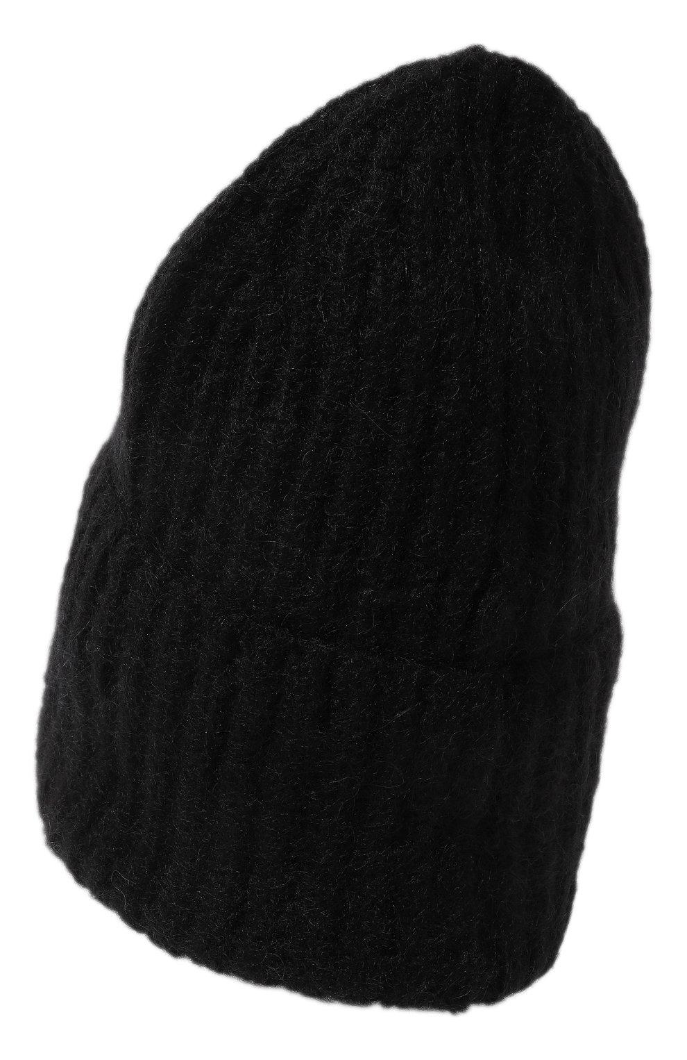 Женская шапка TAK.ORI черного цвета, арт. AC043MW018PF17   Фото 3 (Материал: Текстиль, Шерсть, Синтетический материал; Статус проверки: Проверено, Проверена категория)