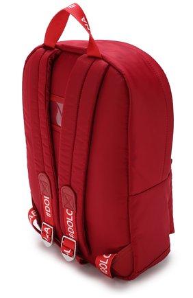 Детская рюкзак с аппликациями DOLCE & GABBANA красного цвета, арт. EM0034/AU359 | Фото 2