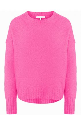 Женская шерстяной свитер HELMUT LANG розового цвета, арт. I05HW706 | Фото 1