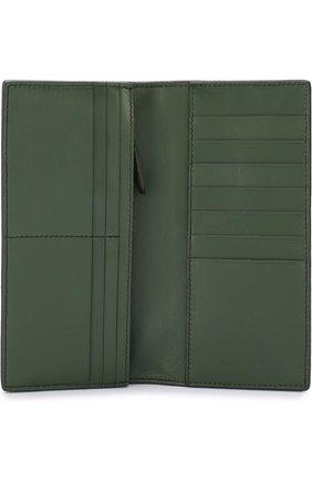 Мужской кожаное портмоне ERMENEGILDO ZEGNA зеленого цвета, арт. E1257T-AFR | Фото 3