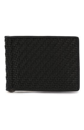 Кожаное портмоне с плетением   Фото №1