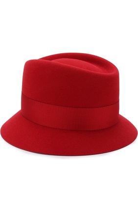 Женская фетровая шляпа oval hat LORO PIANA красного цвета, арт. FAI2730 | Фото 2